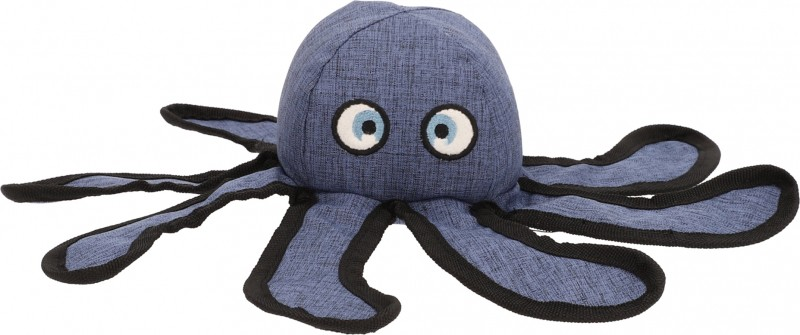 Zolia Ecopetly Octopus Sound Soft Toy for Dogs