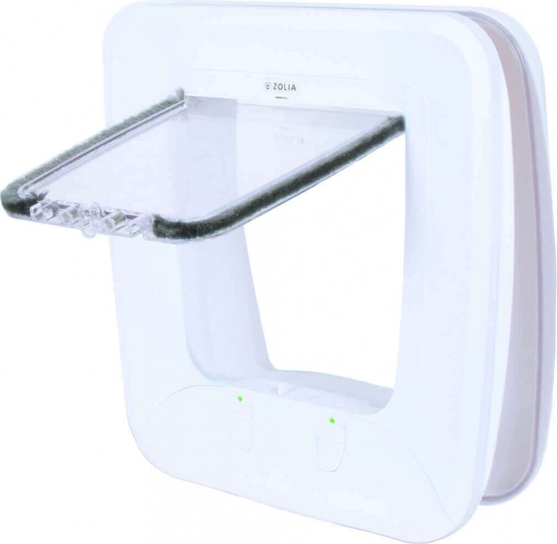 ZOLIA Homepass Magnetic Cat Flap for cats - 4 positions