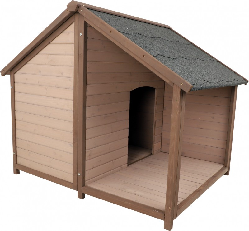 ZOLIA MANOA doghouse with terrace - 2 sizes available