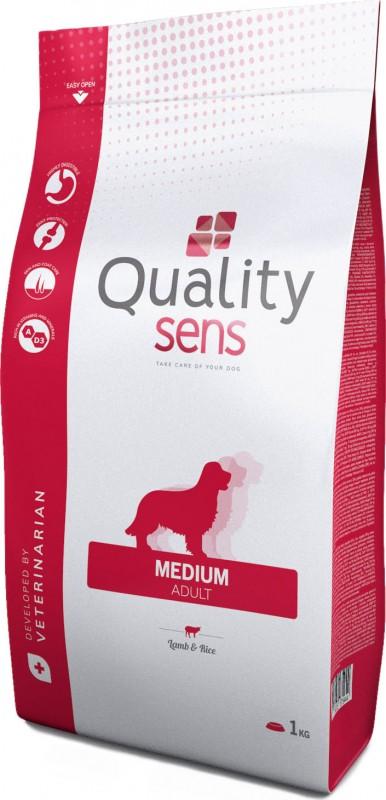 QUALITY SENS Lamb Rice Medium for sensitive dogs of medium size