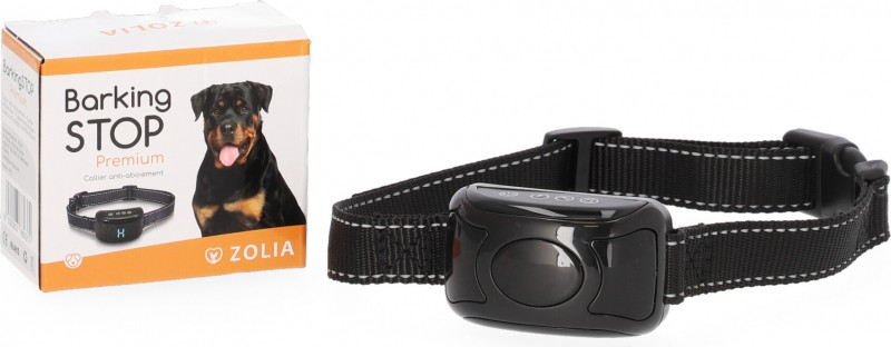 ZOLIA BARKING STOP PREMIUM anti-bark collar - Vibrations, sounds and stimulations