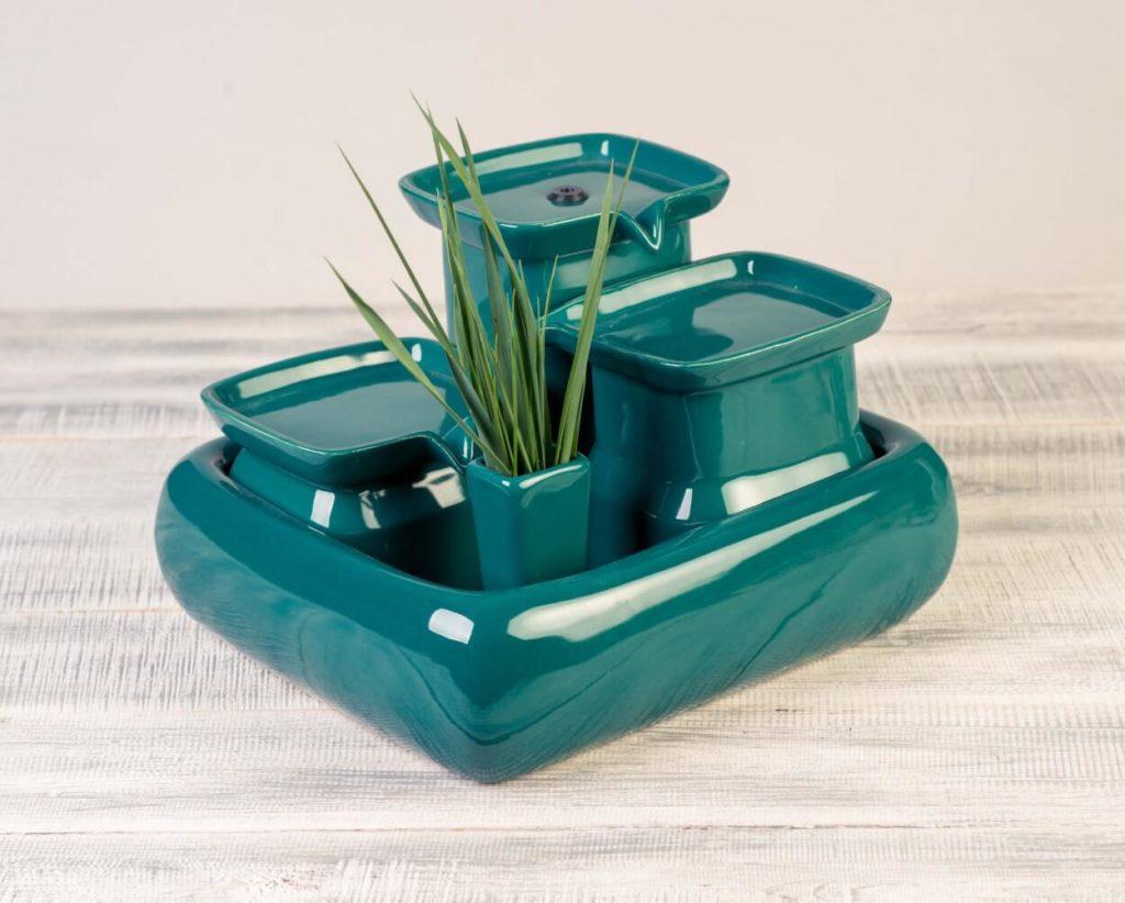 Miaustore Cat Water Fountain - Emerald