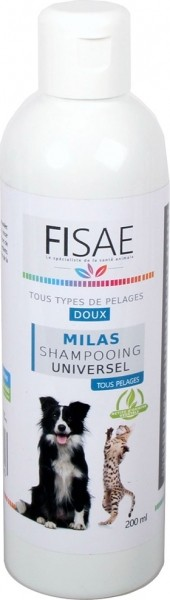 FISAE MILAS Universal Gentle Shampoo for cats and dogs