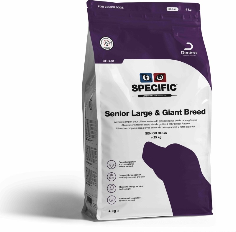 SPECIFIC Adult CGD-XL Active for Dog SENIOR Active