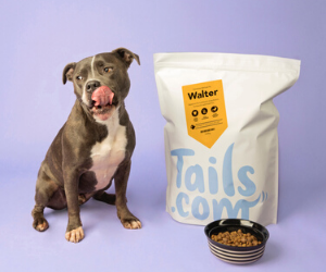Custom personalized dog food - Tails.com