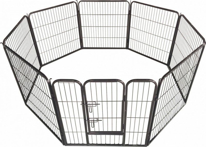 Enclosure for puppy, dog or other animals, modular and secure Zolia - Diam.  200cm