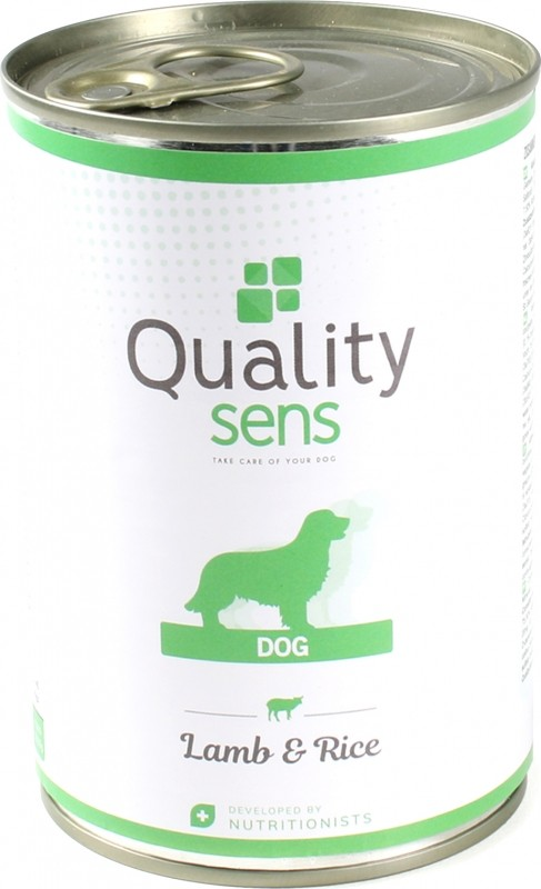 Quality Sens Lamb and Rice Pate for Dogs