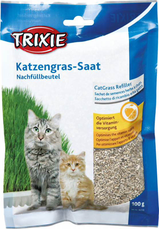 Tender catnip in tub and bag for kittens and cats