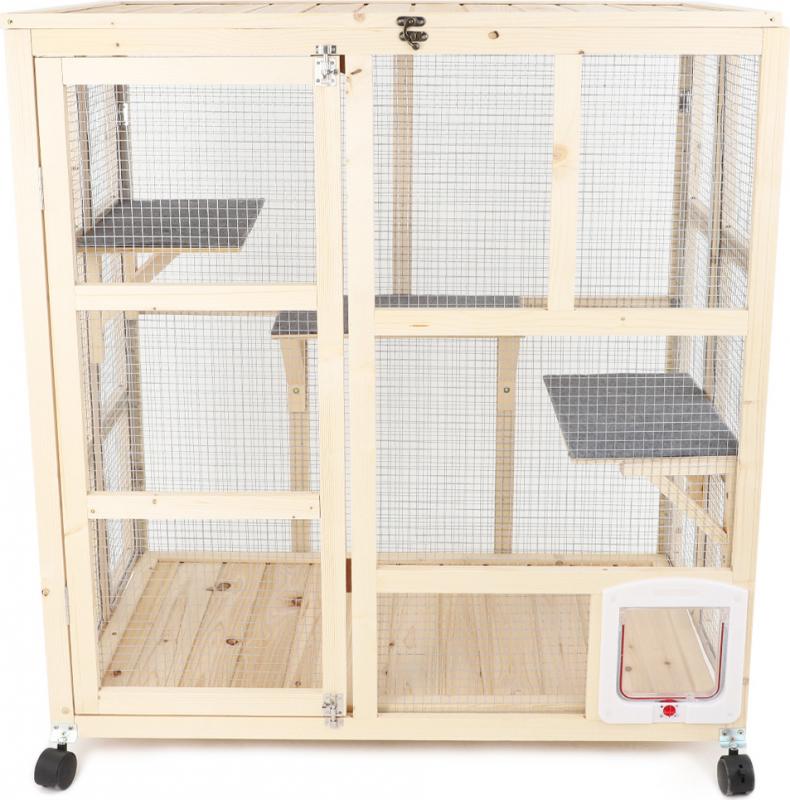 Cat playpen / catio outdoor for balconies Zolia Hardy